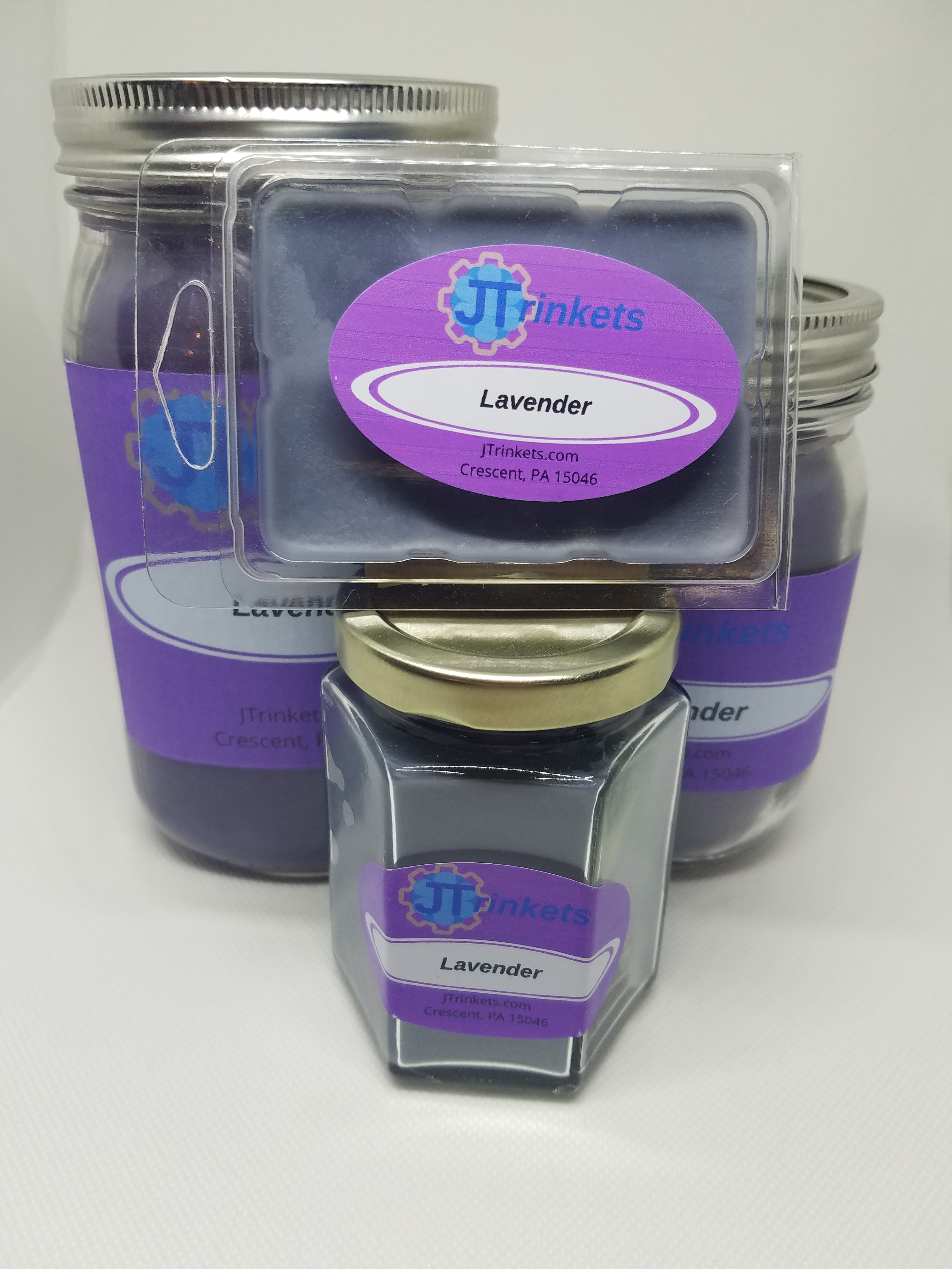 Lavender Large Jar Candle